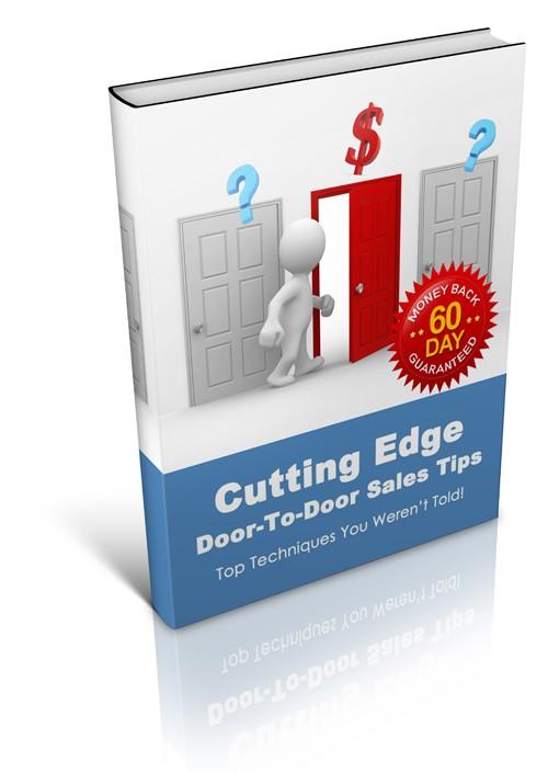 Sales books: Cutting Edge door-to-door sales tips